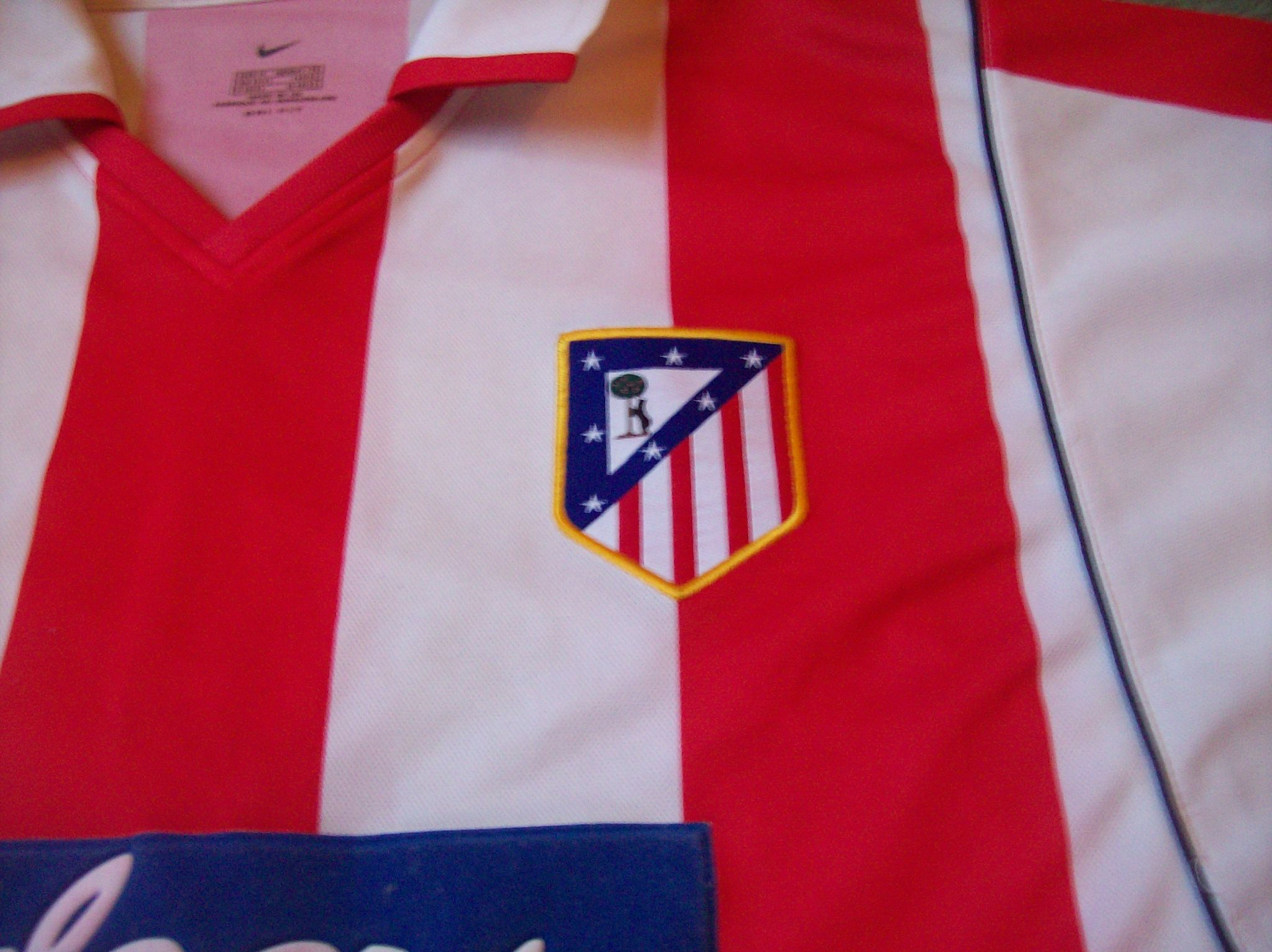 dc7e5dc542c Global Classic Football Shirts   2009 Atletico Madrid   Vintage Old Retro  Soccer Jerseys